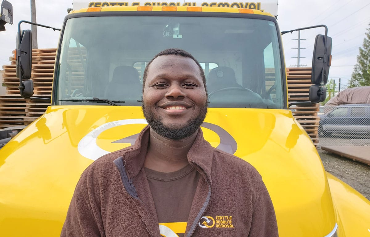 Meet Jamal - Seattle Rubbish Removal Employees
